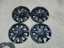 """Set Of 4 Brand New 2005 2006 Camry Hubcaps 15"""" Wheel Covers Black 61136"""