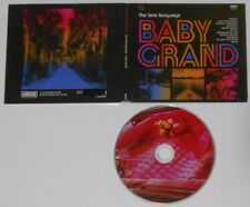 The Love Language  Baby Grand  U.S. cd, digipak cover with press sheet