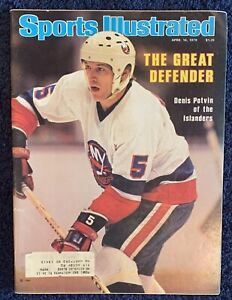 4.16.1970 DENIS POTVIN Sports Illustrated NEW YORK ISLANDERS