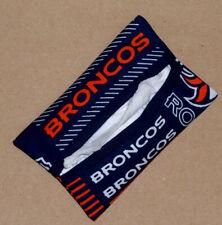 Tissue Packet Denver Broncos Nfl Football Pocket Holder Fabric Cover Handmade