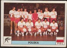 POLONIA POLSKA SQUADRA PALLAVOLO VOLLEY - MONTREAL 76 N°295 - PANINI 1976