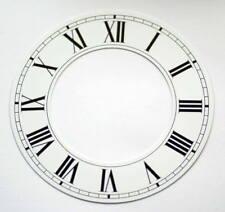 Orologio Bianco capitolo Anello NUMERI ROMANI OROLOGI QUADRANTE NUOVO 76mm 45mm di alluminio