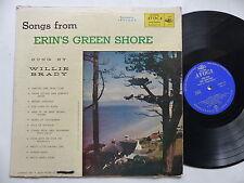 WILLIE BRADY Songs from Erin 's green shore ACOVA 33 AV 115 IRLANDE