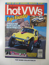 Hot V Ws & dune buggies  September 1987  Treasure Hunting In Guatemala