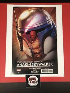 Star Wars AOR Anakin Skywalker #1 Reis Greatest Moments Mace Jango Cover Disney+
