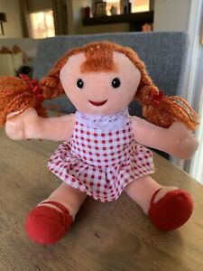 """Misfit Doll Sue 7.5"""" Rudolph And The Island Of Misfit Toys Plush CVS Christmas"""