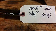 """one Band Saw Blade 110-1/2"""" 110.5"""" 3tpi 3/4"""" .025"""" wood"""