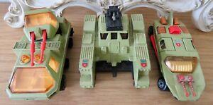 3x Vehicles MATCHBOX K-2002 Flight Hunter, Raider Command K-2001, Adventure 2000