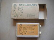 Boîte enseignante Brevet Freinet de 1964 éducation scolaire école moderne Cannes