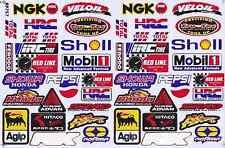 N-382 Sponsoren Sponsors Aufkleber Sticker 1 Bogen 27 x 18 cm Racing Tuning