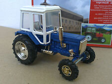 1:43 Tractor MTZ-82 Belarus (white with blue)