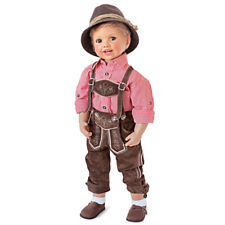 Luis in Bavarian Costume by Monika Peter-Leicht - Ashton-Drake Galleries