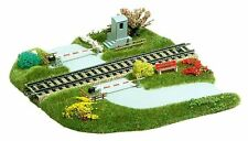 Busch HO 3210 Railroad crossing for Straight Tracks #new original packaging#