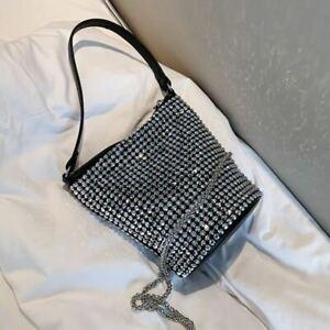 Luxury Cubic Mini Bag : Bucket Messenger Party Shoulder Wedding  Clutch Fashion