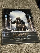 The Hobbit : The Definitive Movie Posters by New Line Cinema Staff (Brand new)