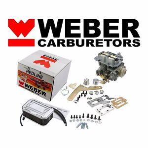For Mazda Dodge Mitsubishi 32/36 DGV Carburetor Conversion Manual Choke Weber