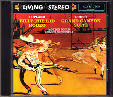 Morton GOULD COPLAND Billy the Kid Rodeo GROFE Grand Canyon RCA LIVING STEREO CD