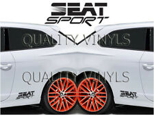 P42 SEAT SPORT LOGO SEAT IBIZA LEON MII ATECA GRAPHICS DECAL STICKERS