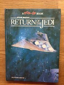 Vintage Star Wars Return Of the Jedi Pop-up Book 1983 (E)