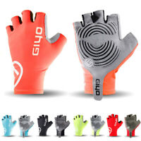 Outdoor Sports Cycling Gloves Half Finger Bicycle MTB Road Bike Racing Anti Skid