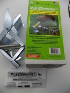 WIRE-TEK MOLE ELIMINATOR TRAP Easy Set  #1001 Brand New Open Box USA Free Ship