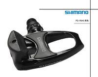 Road Bike PD R540- SPD SL Clipless Road Pedals + Cleats Silver Black New