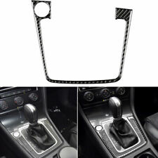Carbon Fiber Gear Panel Box with Start Stickers For Volkswagen VW Golf 7 MK7 GTD