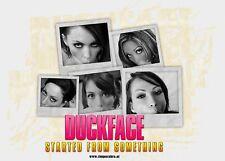 Duckface Aufkleber Sticker Fun Lustig Girls Stickerbomb JDM Pinup