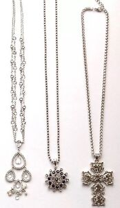 Vintage Style Necklaces Job Lot Of 3 Ladies Gifts