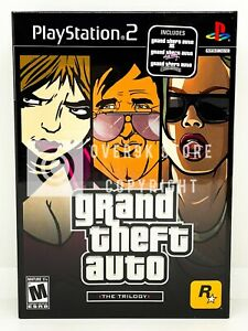 Grand Theft Auto The Trilogy - PS2 - Brand New | Factory Sealed
