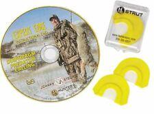 Johnny Stewart Expert Edge Predator Mouth Call Combo Pack, Coyote Calling w/Cd