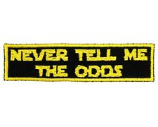 Never Tell Me The Odds Patch - Han Solo Patch - Star Wars Patch