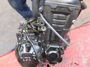 KAWASAKI 1000 SX ENGINE 2012
