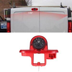 HD car brake light Camera for Nissan Interstar Primastar Peugeot Expert 222 223