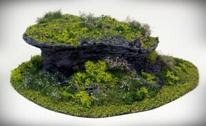 STUB Outcropping B - Tabletop Wargaming, D&D AoS 3D printed hill scatter terrain