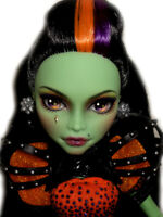 ☠ OOAK custom Casta Fierce doll repaint ever after monster high bjd ☠