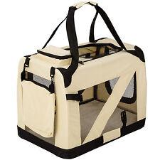 Cage sac box panier caisse de transport pour chien chat mobile pliable M