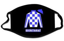 SECRETARIAT FACE MASK HORSE RACING TRIPLE CROWN KENTUCKY DERBY NEW MINT BELMONT