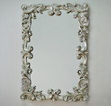 Grand Baroque Miroir Mural Ornement 70x100 Miroir Argent Miroir De Couloir