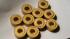 RNMG 160600 KORLOY. 10 New Inserts. Grade NC3020. Free 1st Class Delivery UK