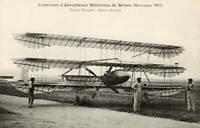 Louis Paulhan Triplane - Vintage Aviation 1910 OLD ILLUSTRATION PHOTO
