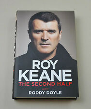 Roy Keane Signed Book Autograph The Second Half Man Utd HB Autobiography + COA