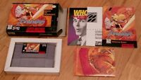 Brandish Super Nintendo SNES RPG Video Game CIB Complete Poster Manual Book lot