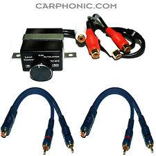 Telecomando BASS SUBWOOFER AMPLIFICATORE Level Remote REGOLATORE SUB Control Y Adattatore
