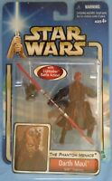 Star Wars TPM Darth Maul Sith Training, sealed blue card figure