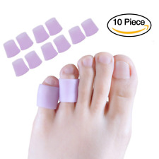 Toe Protectors, Sleeves Silicone Small Gel Corn For Purple Pinky Pain Relief