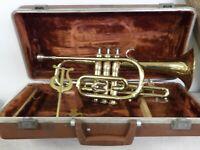 Vintage Olds Ambassador Trumpet Serial#449240 Vincent Bach 7C Mouthpiece w Case