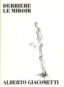 Maeght Editeur - Alberto Giacometti: Derriere le miroir. No. 98.