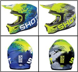 Shot Furious Counter Motorcycle Motorbike Off Road MX Helmet Motocross Enduro