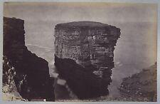 Holborn Head Clett Rock - Dumbarton castleUK 2 Photos Vintage albumen 1880's